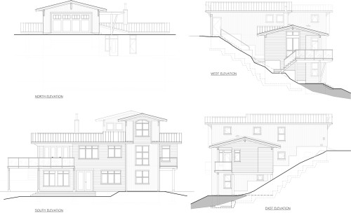 Cowichan - Elevations