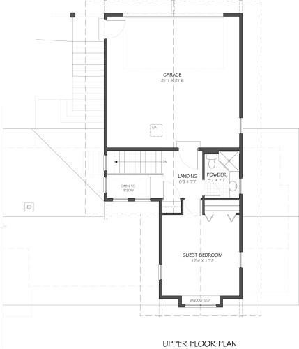 Cowichan - Upper Floor Plan