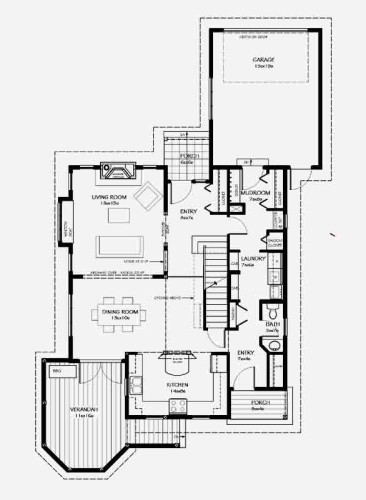 Elwyn Main Floor Plan