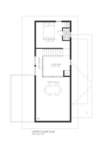 Equinox Upper Floor Plan