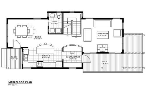 Galena Main Floor Plan