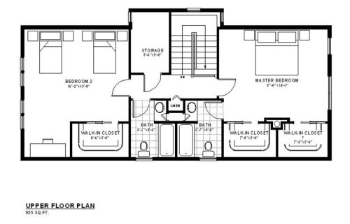 Galena Upper Floor Plan