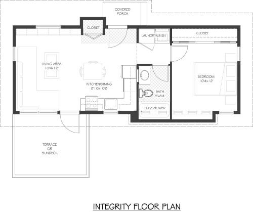 Integrity Floor Plan