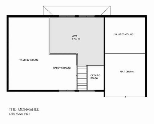 Monashee Loft Floor Plan