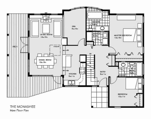Monashee Main Floor Plan