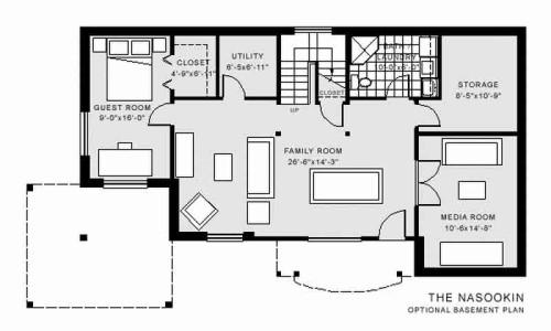 Nasookin Basement Floor Plan