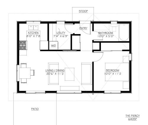 Piercy Floor Plan