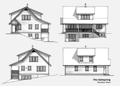 Salt Spring Elevations
