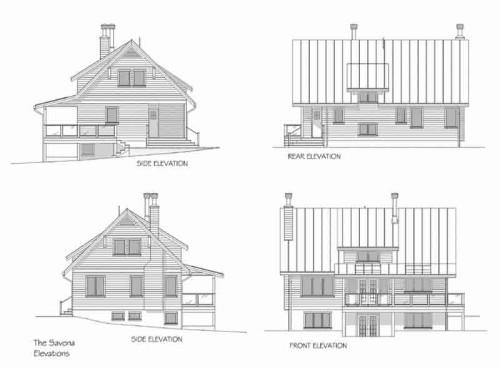 Savona Elevations Floor Plan