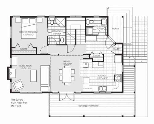 Savona Main Floor Plan