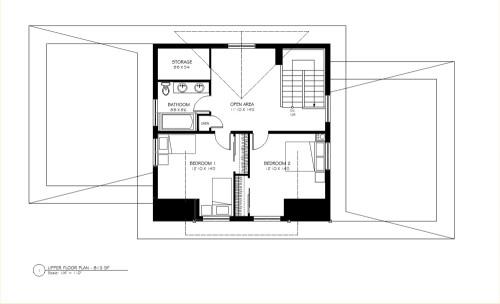 Tatloko Upper Floor Plan