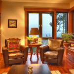 Orcas Island - Living Room