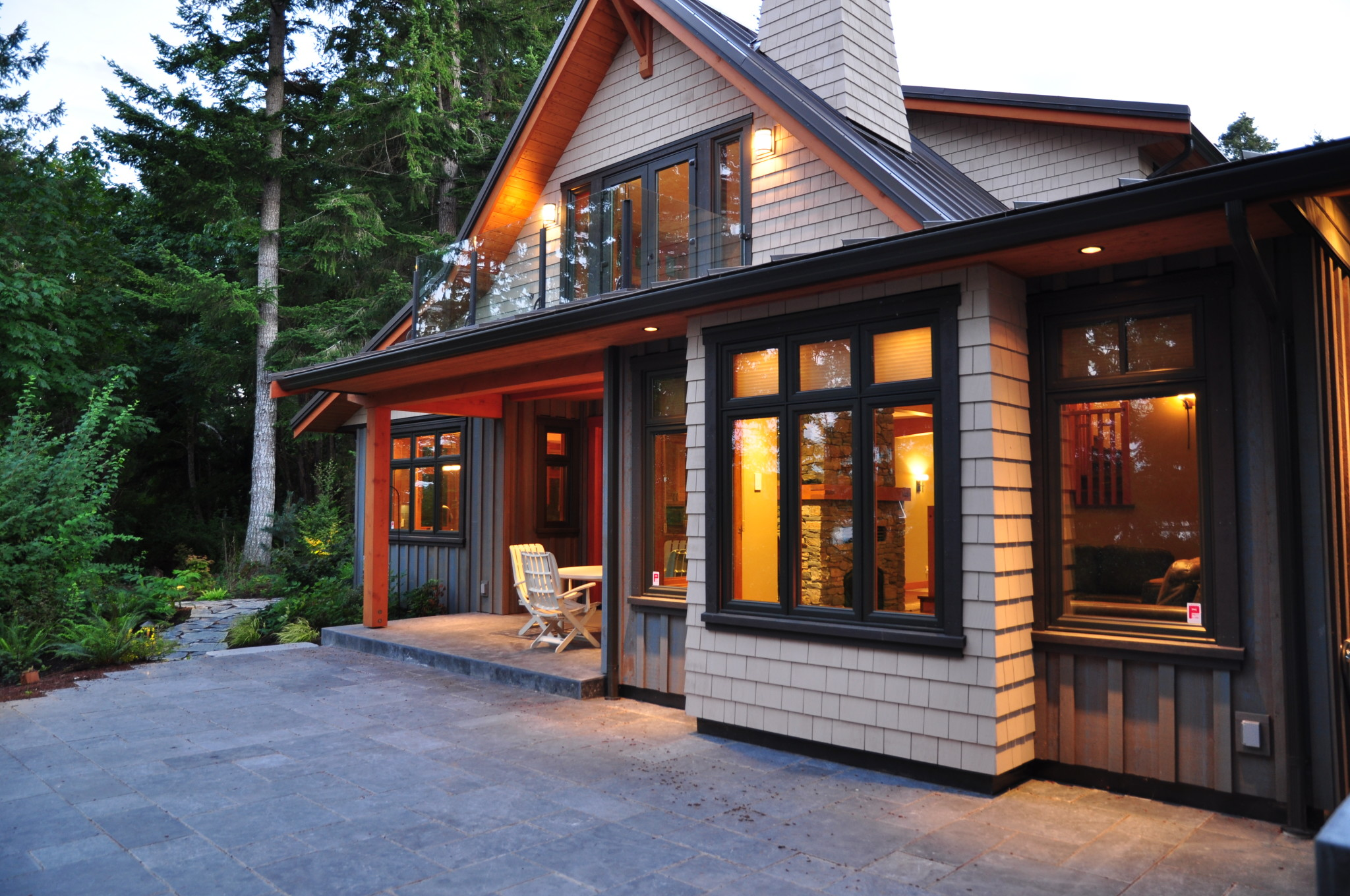 Waterfront retreat buckley bay bc john gower design for Waterfront retreat
