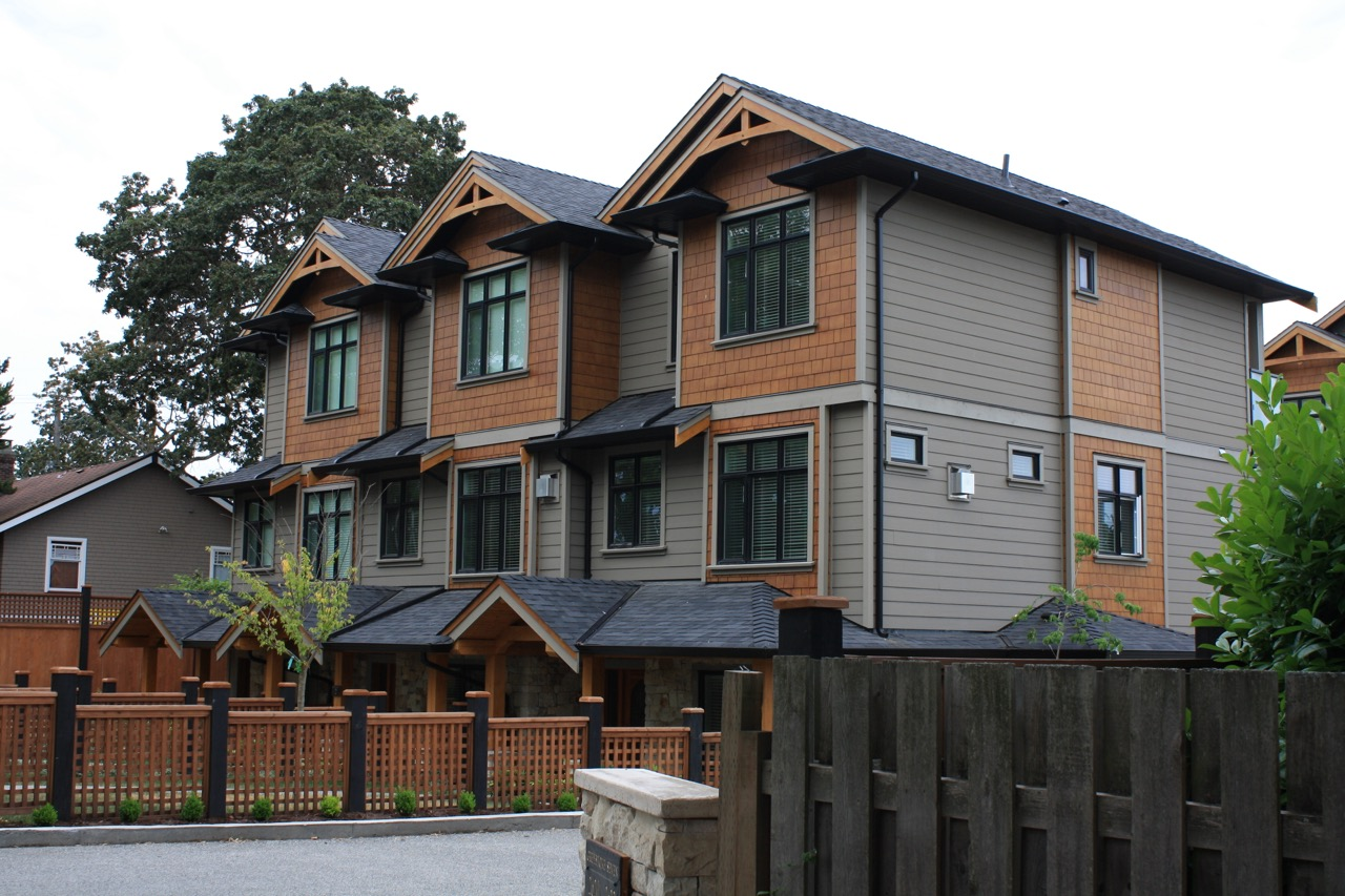 Greystoke Seven Townhomes in Victoria, BC