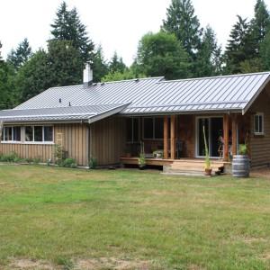 Farmhouse Transformation in Fanny Bay, BC