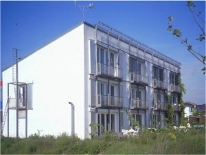 The first Passive House, built in Darmstadt, Germany