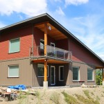 'Damn Near' Passive House, then and now